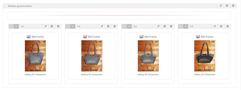 Aufbau Bildershow in WordPress