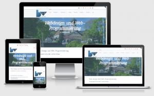 responsive Webdesign von blic-voraus